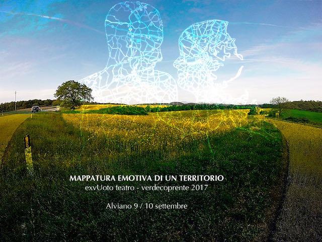 """A Verdecoprente la Compagnia ExVuoto Teatro porta in scena """"Mappatura emotiva di un territorio"""""""