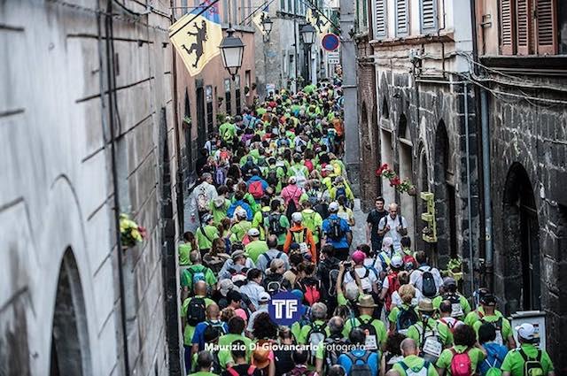 """World Francigena Ultramarathon"", Acquapendente ora cammina insieme a Siena"