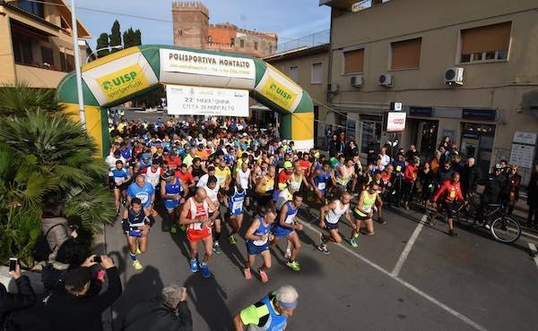 """Si corre la 25esima maratonina """"Città di Montalto"""""""