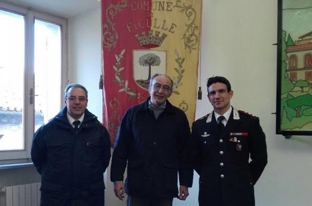 La sicurezza dei borghi al centro della visita del nuovo comandante dei Carabinieri