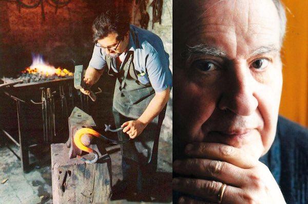 Via Vivaria sarà intitolata a Marcello Conticelli, l'artista del ferro battuto