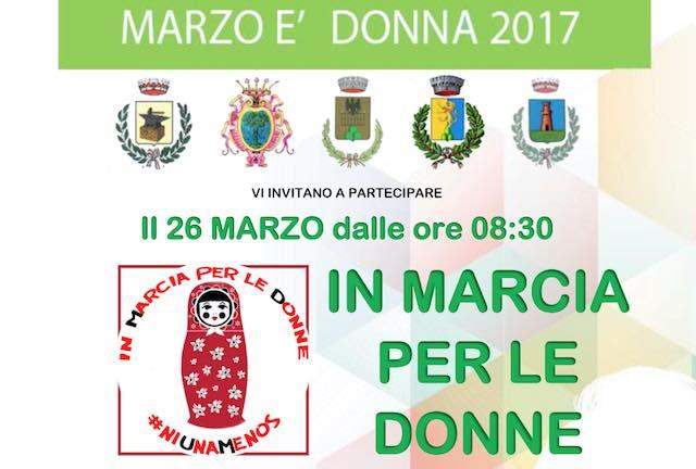 """L'Alto Orvietano """"In marcia per le donne"""" verso la Panchina Rossa"""