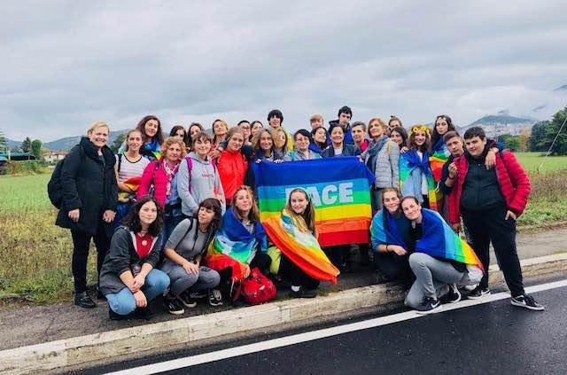 PerugiAssisi 2018, anche l'IISACP di Orvieto alla Marcia della Pace