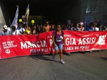 La mozione finale della Marcia Perugia-Assisi