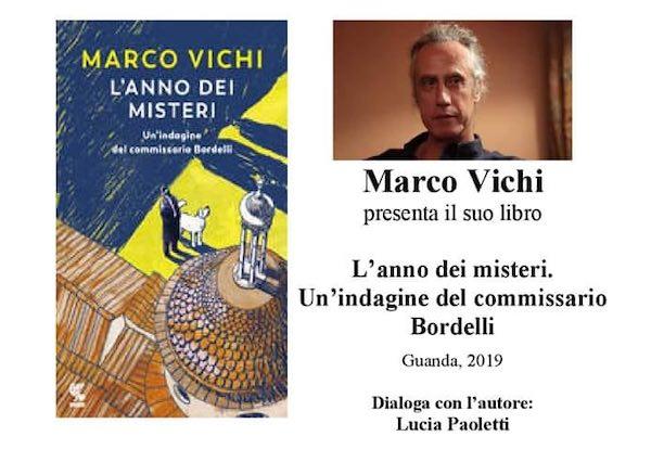 """I Venerdì della Biblioteca si tingono di giallo, Marco Vichi presenta """"L'Anno dei Misteri"""""""