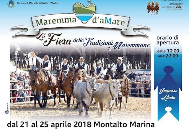 """""""Maremma d'aMare"""". Al via la quinta fiera delle tradizioni maremmane"""
