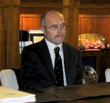 Claudio Margottini nuovo assessore all'ambiente del Comune di Orvieto. Ridistribuite le deleghe