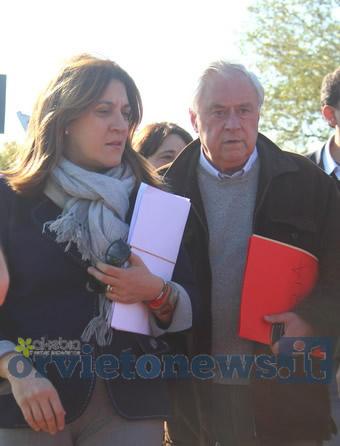 Dopo l'alluvione,  via alla verifica dei danni. La presidente Marini a Orvieto per un quadro delle criticità