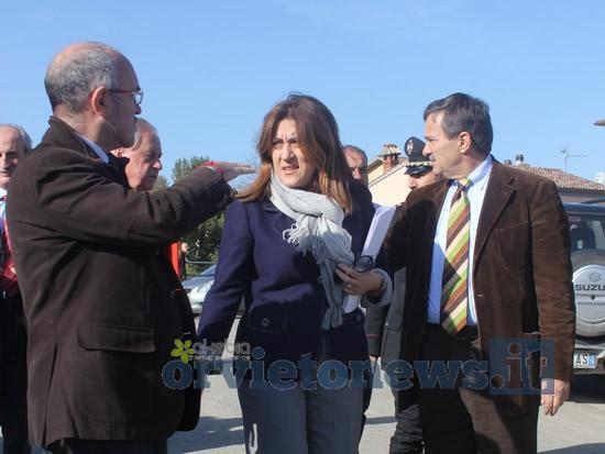 La presidente della Regione Umbria Catiuscia Marini ha chiesto al Governo il riconoscimento dello stato emergenza