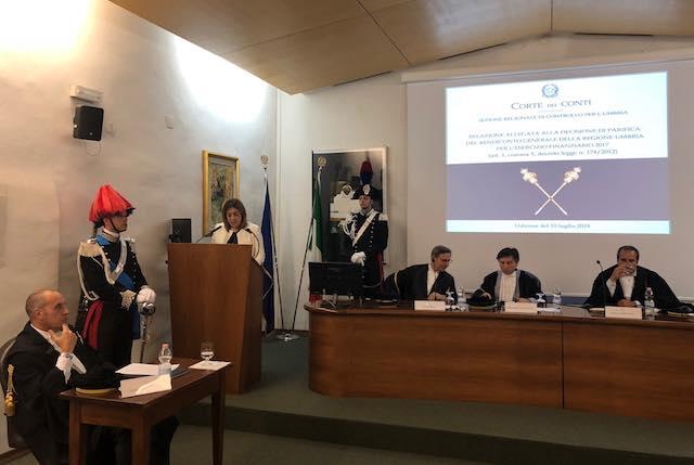 """""""Il giudizio della Corte dei Conti conferma il rispetto degli equilibri di bilancio della Regione"""""""