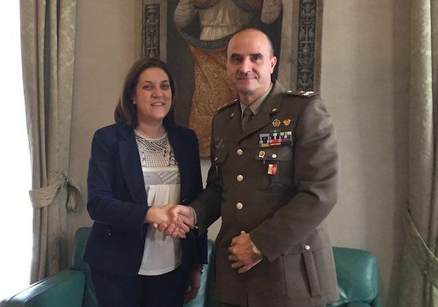 E' il colonnello Michele Fasciano il nuovo comandante militare dell'Esercito Umbria