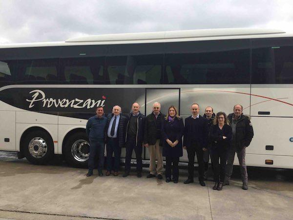 """Marini in visita alla Sem Provenzani, """"azienda storica per la città"""""""