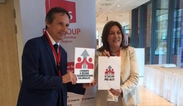 Catiuscia Marini confermata alla presidenza del gruppo PSE del Comitato Europeo delle Regioni