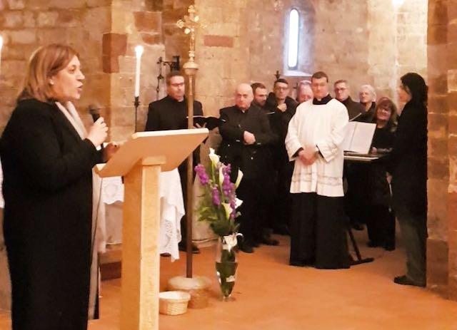Festa grande a Viepri per la riapertura dell'Abbazia di Santa Maria