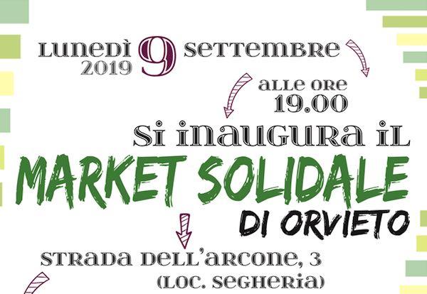 """Apre il """"Market Solidale"""", il primo negozio orvietano """"Senza Monete"""""""