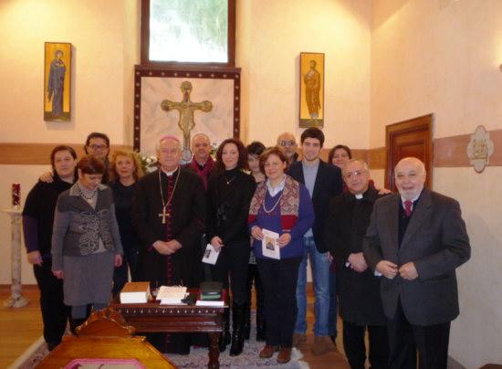 I Giornalisti di Orvieto-Todi con l'Arcivescovo Mons. Marra hanno ricordato il Santo Patrono Francesco di Sales