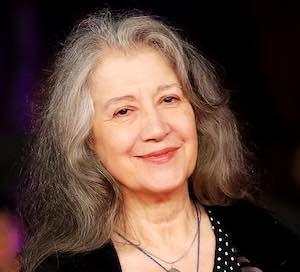 A Martha Argerich