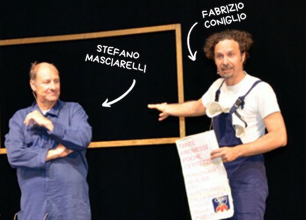 Tra magia, musica e commedia. In arrivo Stefano Masciarelli e Fabrizio Coniglio