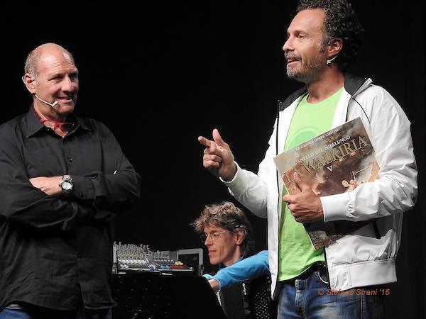 """Stefano Masciarelli e Fabrizio Coniglio sul palco con """"Si stava meglio, quando si stava peggio"""""""