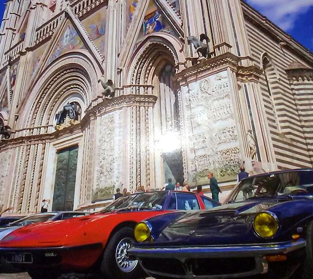 Il Duomo in copertina, Maserati sceglie Orvieto per il magazine del club
