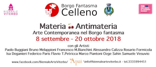"La V Biennale d'Arte Contemporanea approda nel ""Borgo Fantasma"""