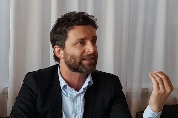 Matteo Burico presenta la coalizione di centrosinistra