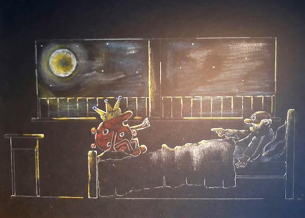"""Maurizio Scala presenta """"Appunti di una notte in cui anche la Luna era pensierosa"""""""