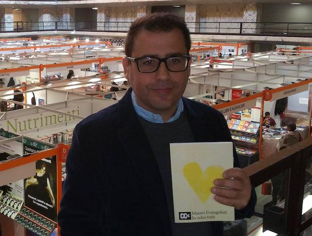 """Mauro Evangelisti presenta il romanzo """"Io odio tutti"""""""