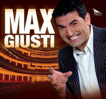 """Max Giusti in esclusiva al Mancinelli con """"100% comico in Tour"""". Riprese di RAI 2"""