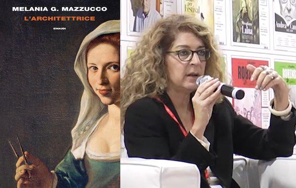 """Melania Mazzucco torna a """"Il Libro Parlante"""" e presenta """"L'Architettrice"""""""