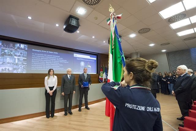 Medaglia d'oro alla Protezione civile, il contributo del Piemonte