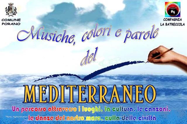"""""""Musiche, colori e parole del Mediterraneo"""" inondano il Teatro Santa Cristina"""