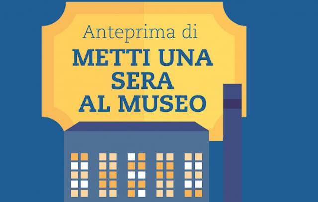 """Anteprima serale di """"Metti una sera al Museo"""" del Vetro"""