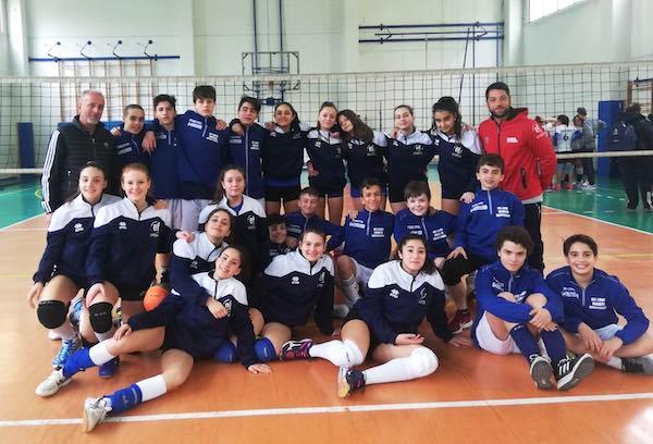 Giochi sportivi studenteschi di pallavolo, vincono gli studenti dell'Ippolito Scalza
