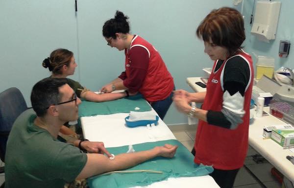 Via all'iter per 90 allievi marescialli per diventare donatori di midollo osseo