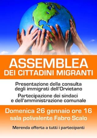 Assemblea dei cittadini migranti