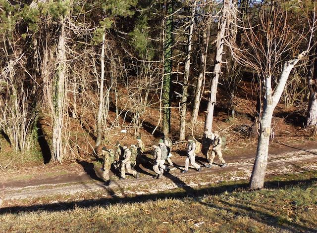 Esercitazione di orienteering e topografia sui Monti Cimini