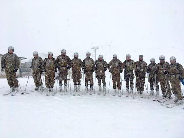 Scuola Sottufficiali dell'Esercito ai Campionati Sciistici delle Truppe Alpine