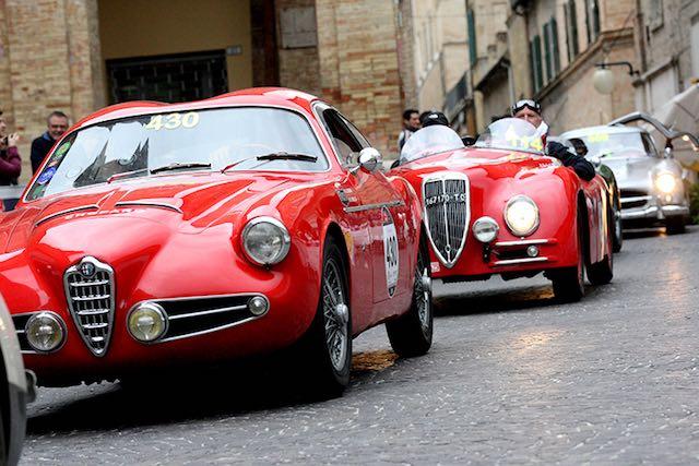 """Mille Miglia a Orvieto, la soddisfazione del Comune per il passaggio della """"corsa più bella del mondo"""""""