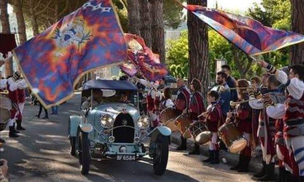 La Mille Miglia festeggia 94 anni e torna sulle strade di Lazio e Umbria