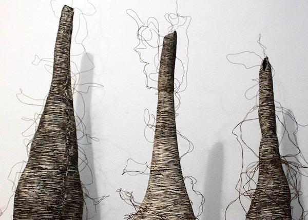 """""""Mirna Manni sculture al Trebbo"""", per un binomio tra arte e cucina"""