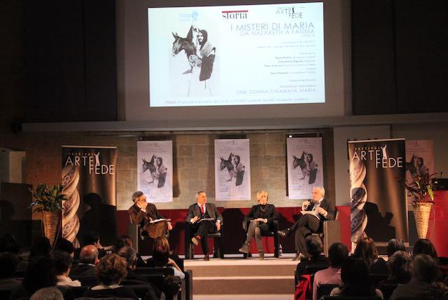 """""""Una donna chiamata Maria"""". Presentato ad """"Arte e Fede 2016"""" il docufilm girato a Orvieto"""