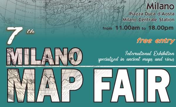 """Curiosità e rarità nel catalogo """"Milano Map Fair 2019"""""""