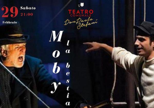 """La riscrittura di """"Moby Dick"""" al Teatro Don Paolo Stefani"""