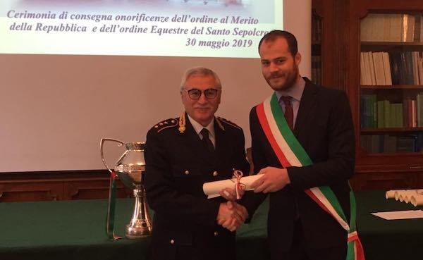 Nominato Cavaliere della Repubblica il capitano della Polizia Locale