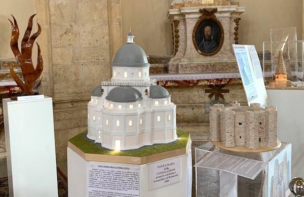 """Chiese, sinagoghe e moschee. """"Modelli Architettonici"""" in mostra alla Consolazione"""