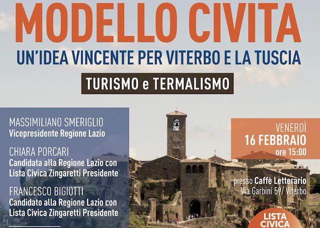 """""""Modello Civita"""", un'idea vincente per turismo e termalismo"""