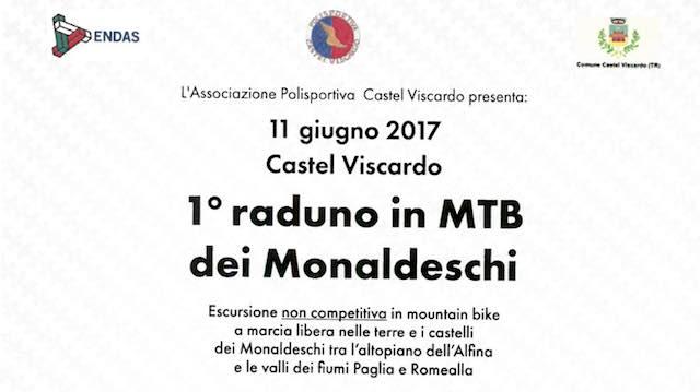 La Polisportiva Castel Viscardo organizza il primo raduno in MTB dei Monaldeschi