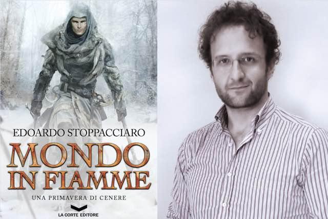 "Edoardo Stoppacciaro presenta ""Mondo in fiamme"". Dopo il fantasy, cena medievale"