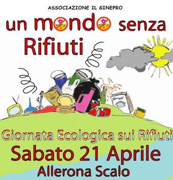"""Un """"Mondo senza rifiuti"""" con l'associazione Il Ginepro"""